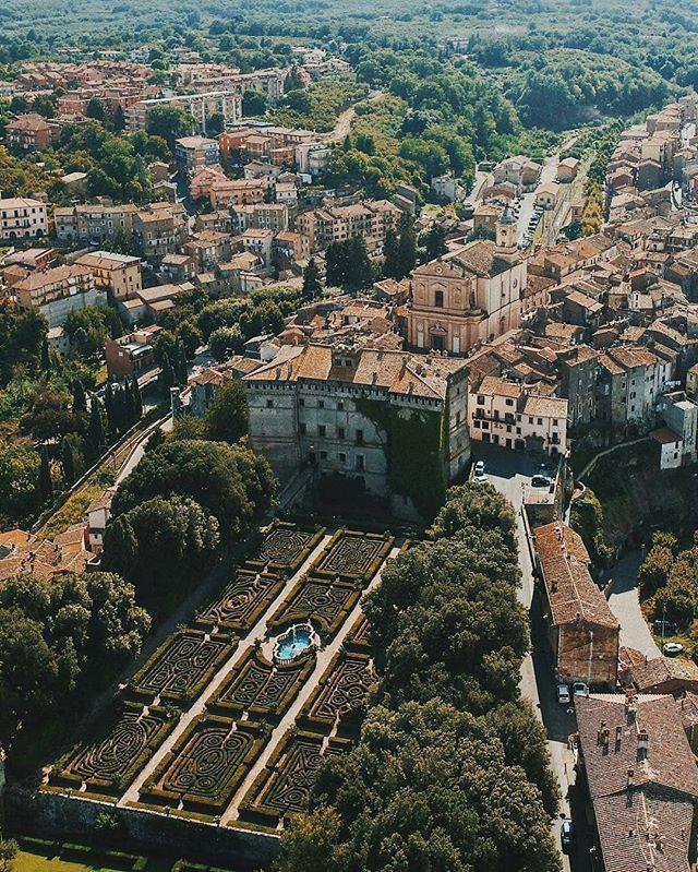 castello Ruspoli ville della Tuscia