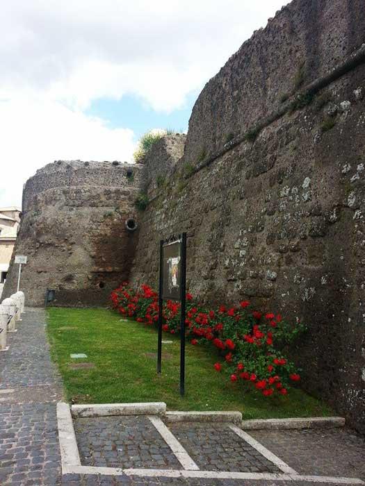 Ingresso del Castello Borgia di Nepi