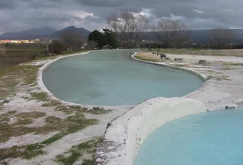Vasche libere delle Terme di Viterbo