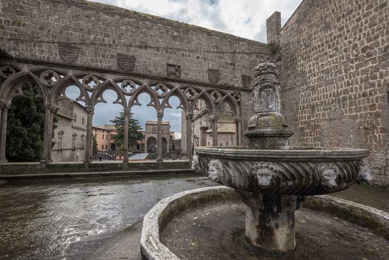 Palazzo dei papi Viterbo Tuscia