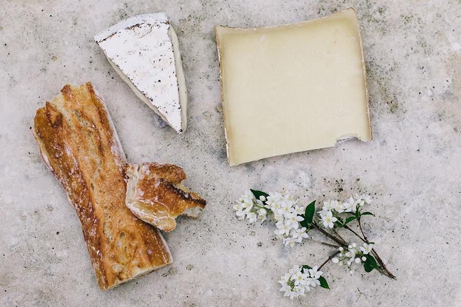 Selezione formaggi tipici della Tuscia