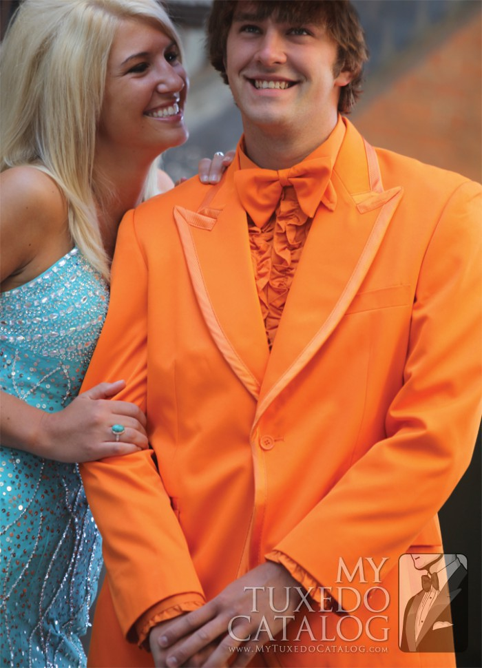 Orange Tuxedo Tuxedos Amp Suits