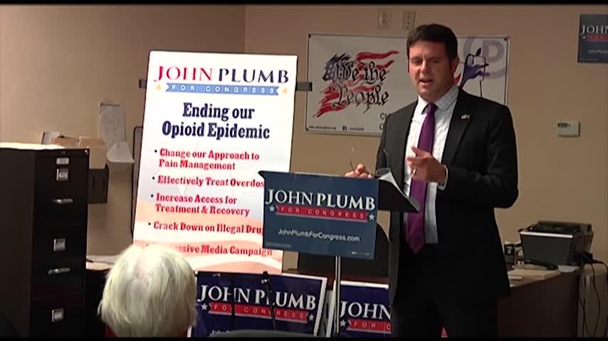 John Plumb Speaks On Opioid Crisis Ahead of Election_66061759-159532