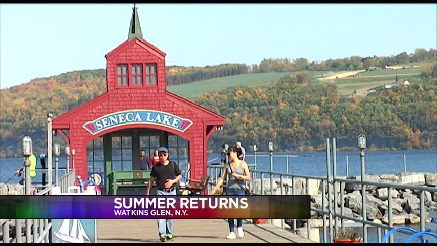 Watkins Glen Residents Get Out and Enjoy the Warm Weather_31515361-159532