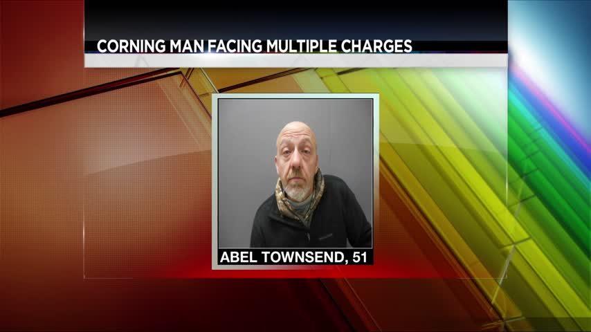 Corning Man Facing Multiple Charges_82880076