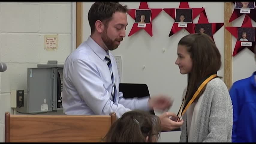 Horseheads School District Honors Kartzman and Talks Budget_88134196
