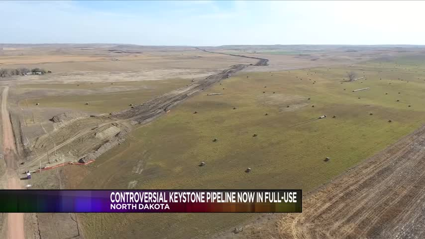 Oil Now Flowing Through Dakota Access Pipeline_97751903