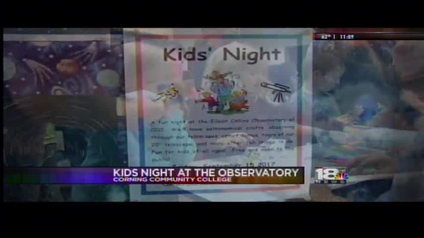 Corning Community College Observatory hosts kids night_27816941