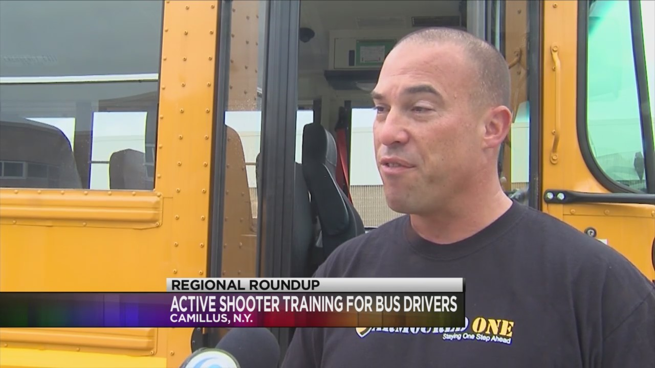 West Genesee bus drivers get active shooter training