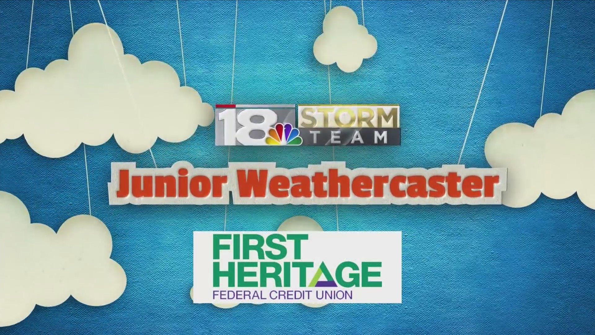Junior Weathercasters: Kendall & Khloe
