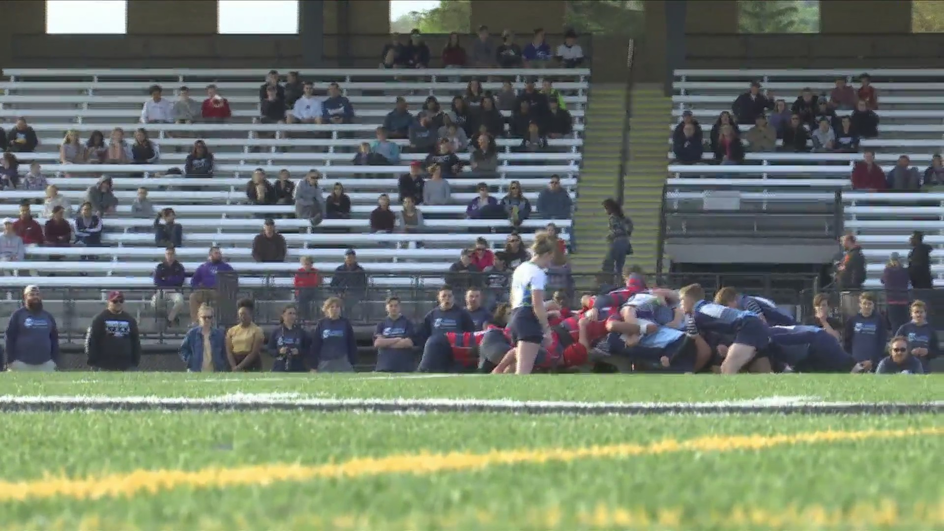 Corning Rugby Club splits doubleheader