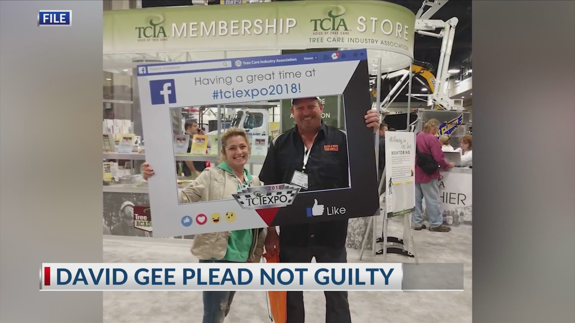 Gee pleads not guilty
