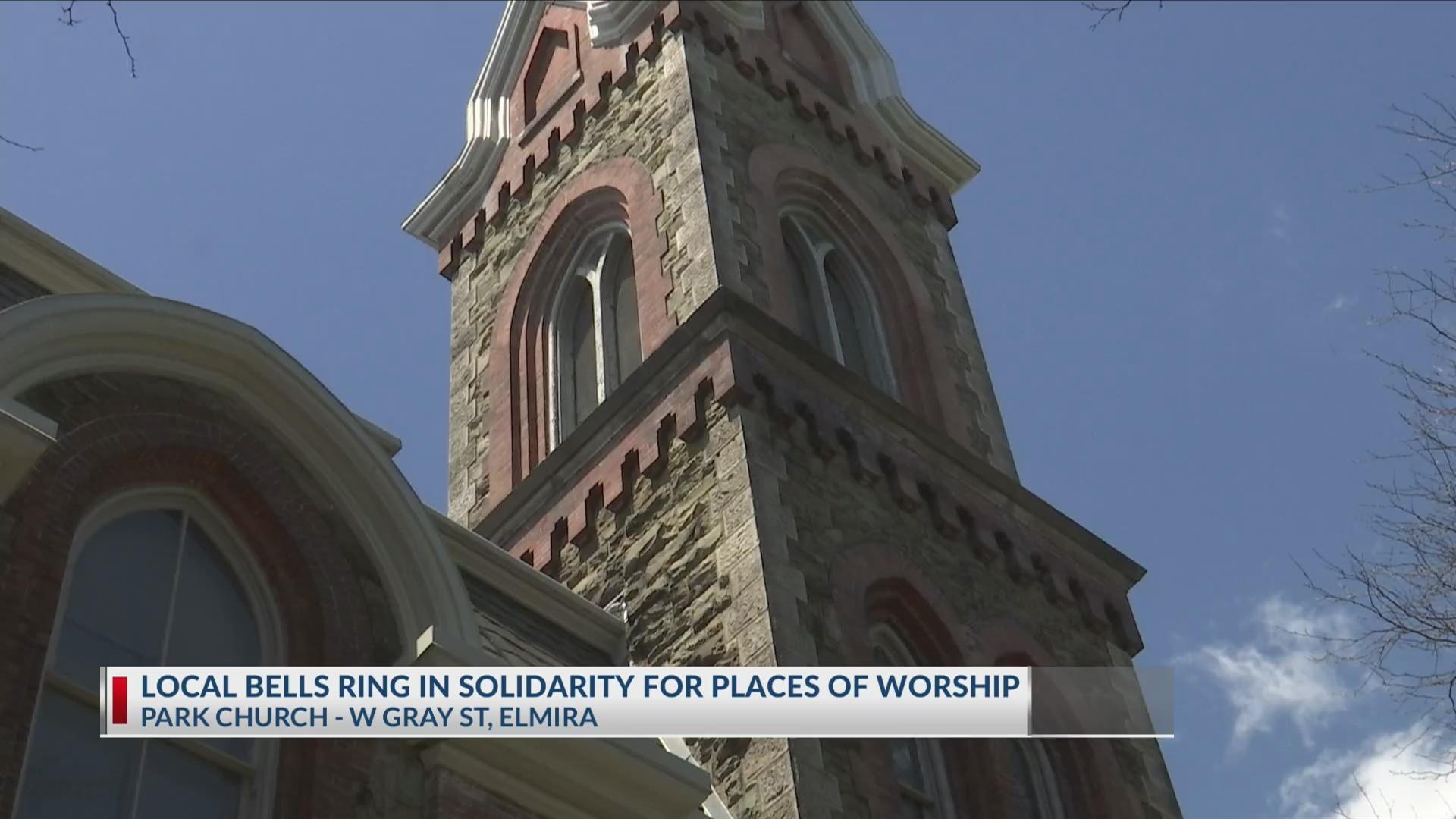 Local church bells toll