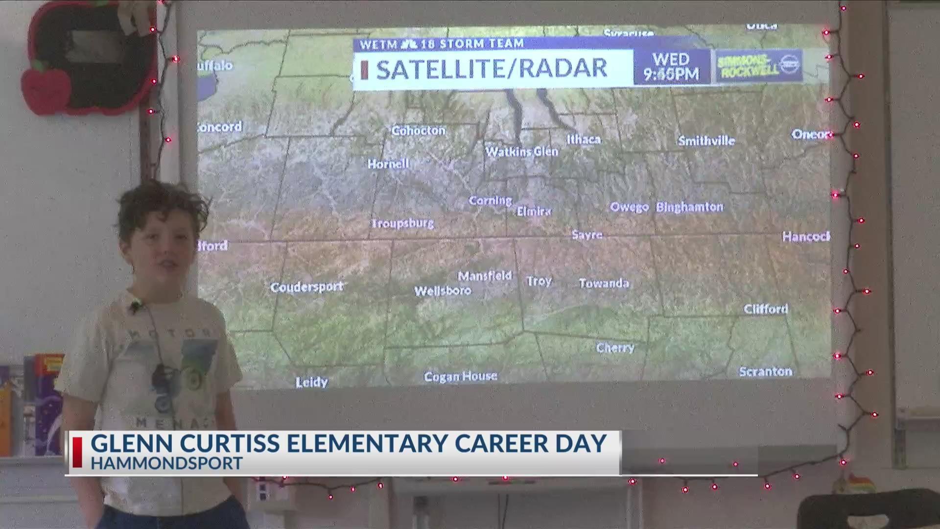 Weather Wisdom: Glenn Curtiss Elementary Career Day