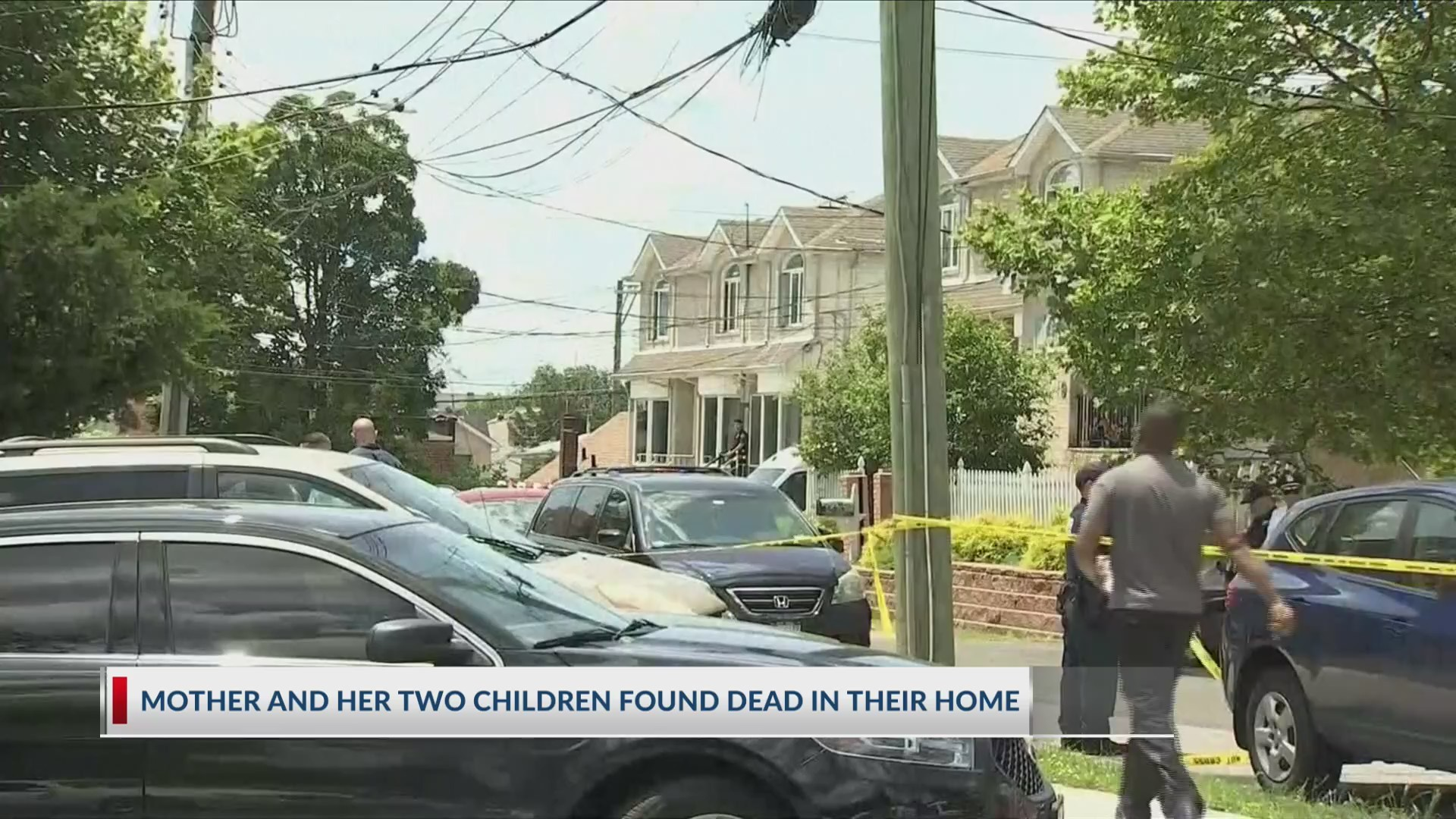 A mother and two children found dead in their home