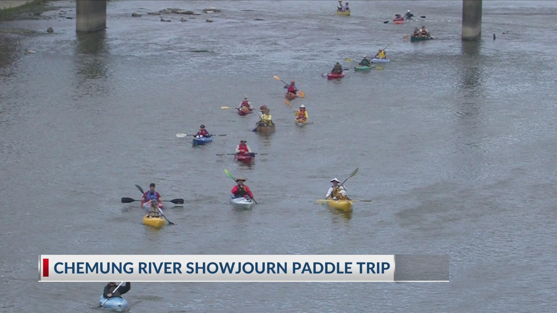 Chemung River Showjourn  Paddle Trip