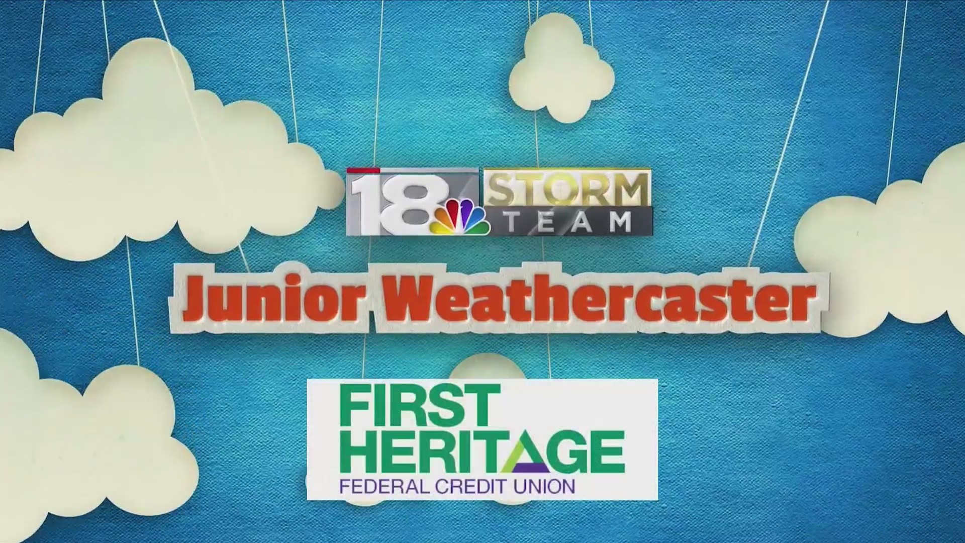 June's Junior Weathercaster