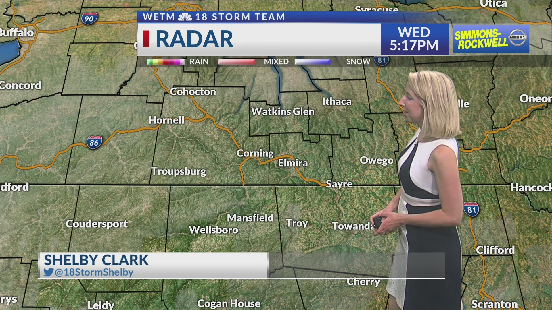 Monday Evening's 7-Day Forecast (6/12/19)