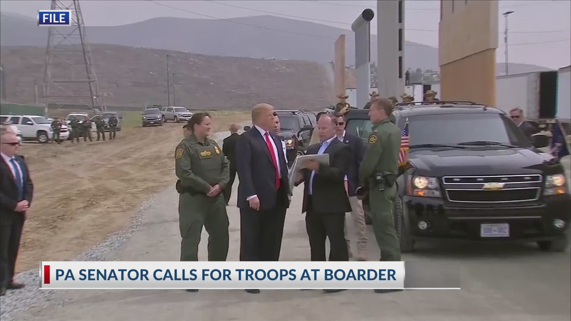 PA senator calls for troops at boarder