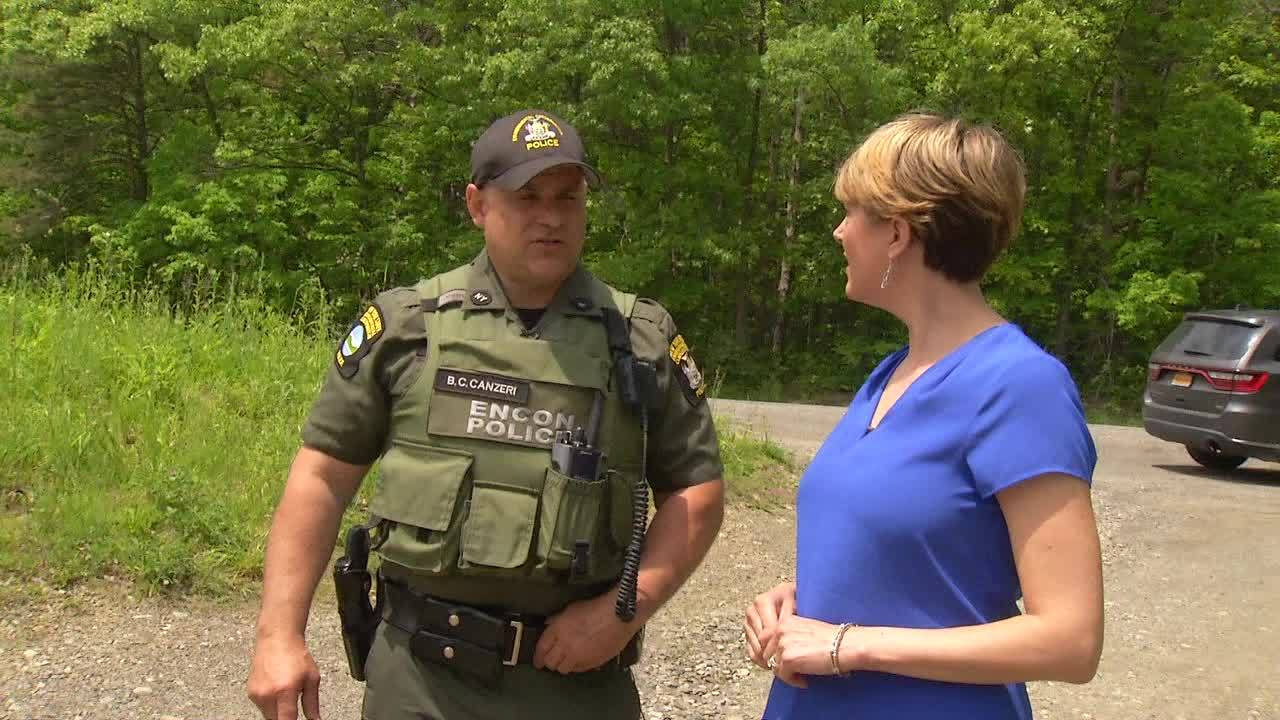 Quick thinking NYSDEC officer catches anglers trying to cheat at fishing derby
