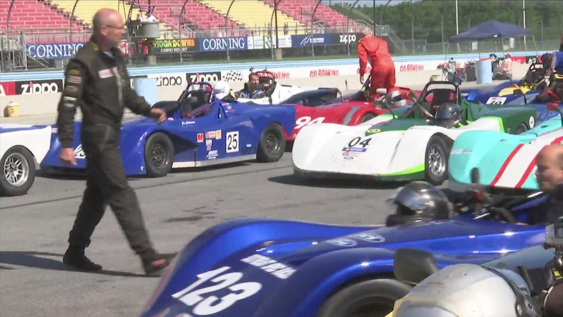 racing up at WGI