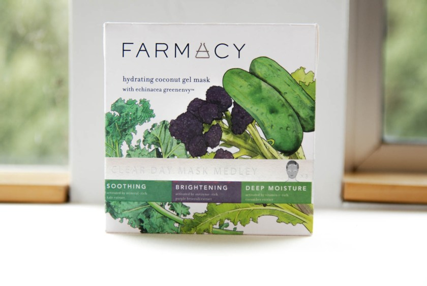 Farmacy Clear Day Mask Medley Soothing Brightening Deep Moisture Hydrating Coconut Gel Mask
