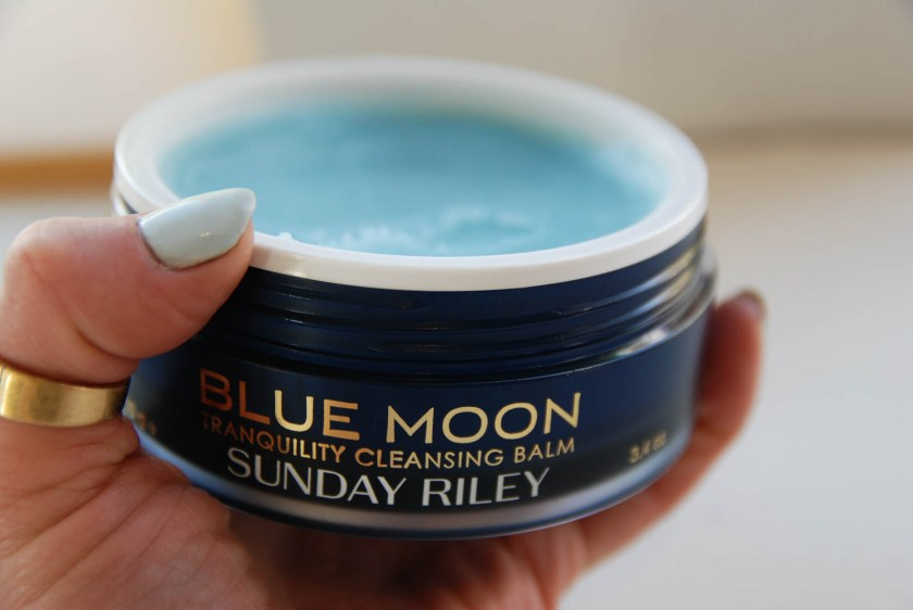 Sunday Riley Blue Moon Tranquility Cleansing Balm 3