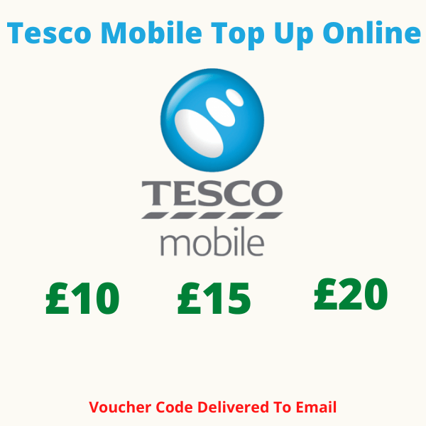 Tesco Mobile Top Up Online