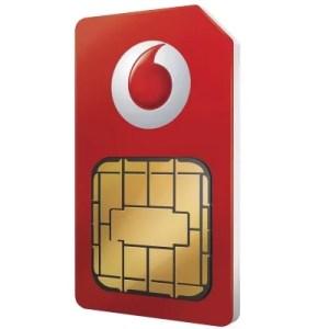 Vodafone Sim Card Pay As You Go