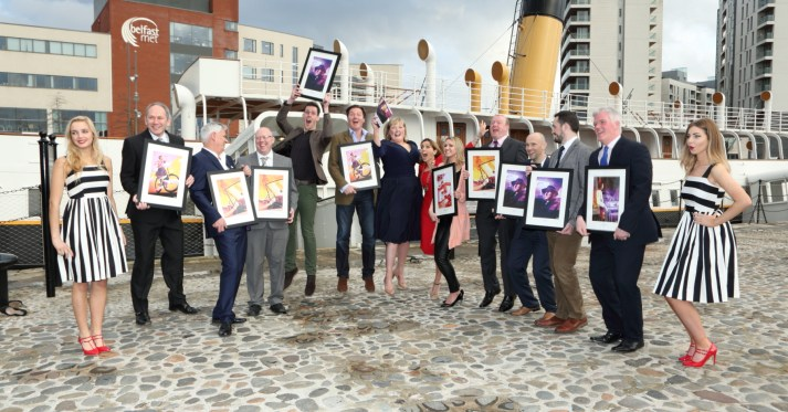 (L-R) Lucy Martin, Patrick Beatty (Irish News), Brian Commins (Citybeat), Peter McVerry (U105), Ryan Hoy (Exterion Media), David Hinds (WG Baird), Lynne Doherty (PANI Awards Committee Chair), Cathy Martin (PANI Chair), Sophie Seaton (Mirror Media), Richard Ross (Downtown/Cool FM), Peter Megarrell (Clear Channel), Neil Williams (JCDecaux), Trevor Jordan (UTV) & Alicia Connolly. (Missing from the picture sponsor Belfast Telegraph)