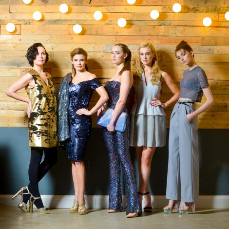 Pictured at the launch of West Coast Cooler FASHIONWEEK are models Nuala, Joanne, Rebecca, Aimee and Lauryn in the latest looks from Spoilt Belle Boutique, DV8, CastleCourt, Lotus Boutique and Topshop @ Victoria Square.