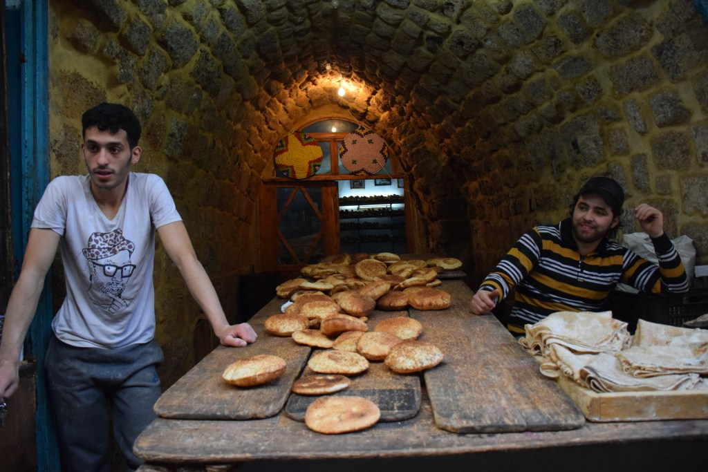 Tripoli, Lebanon, old cities, bakery, bread, kaak