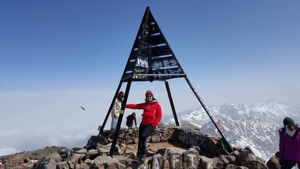 Mount Toubkal, Morocco, summit, Atlas Mountains