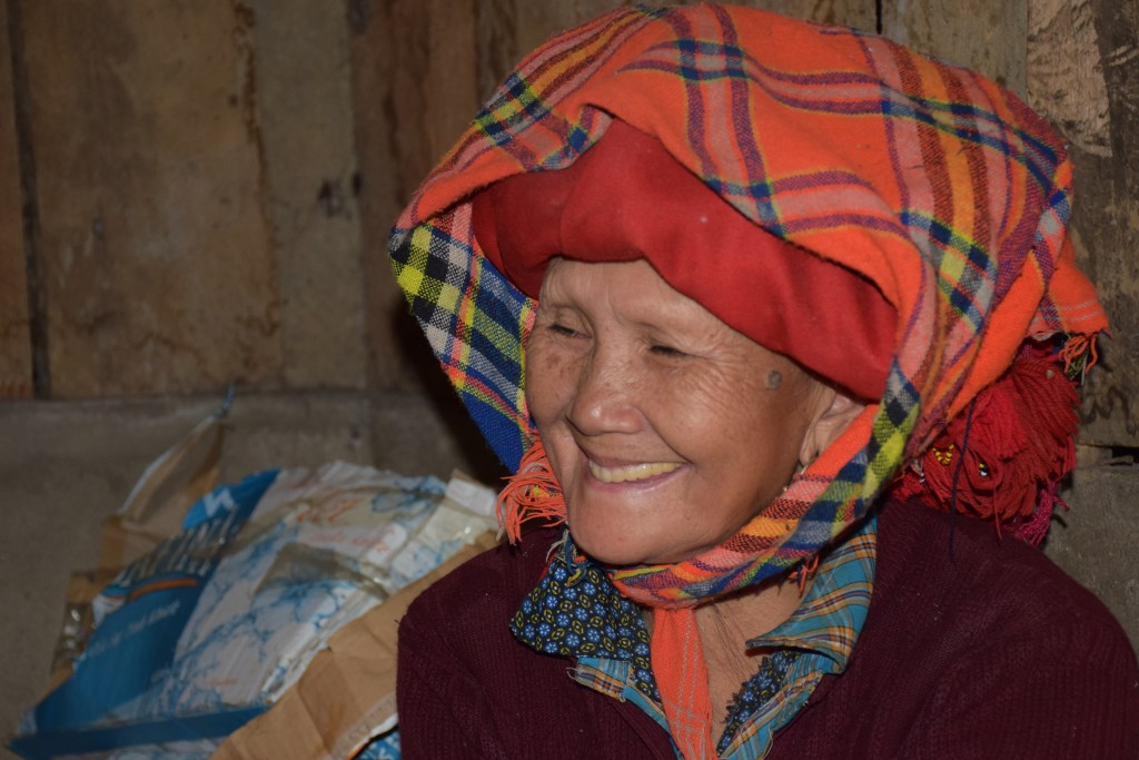 Sapa, Red Dao, Old woman, North Vietnam