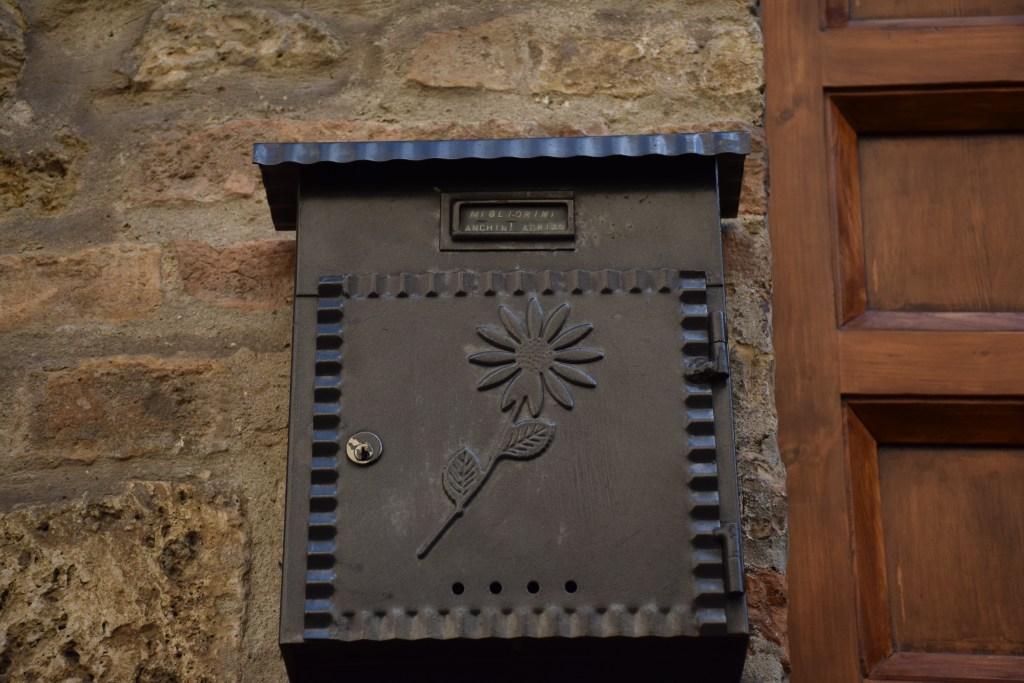 Letterbox, mailbox, Italy, Tuscany