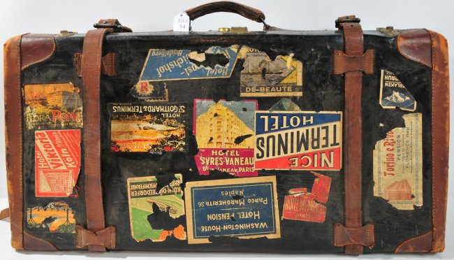 vintage, luggage, travel, stickers, suitcase, traveling