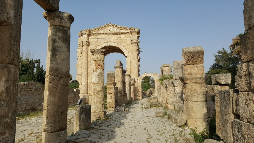 Tyre, Lebanon, Roman city, archaeological site