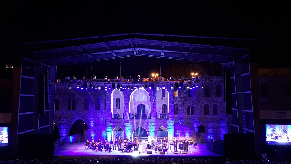 Beit Ed-Din, Palace, Concert, Lebanon, summer, presidential palace