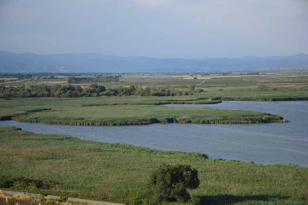 Lake Ismarida, Greece, Thrace, birdwatching, lake