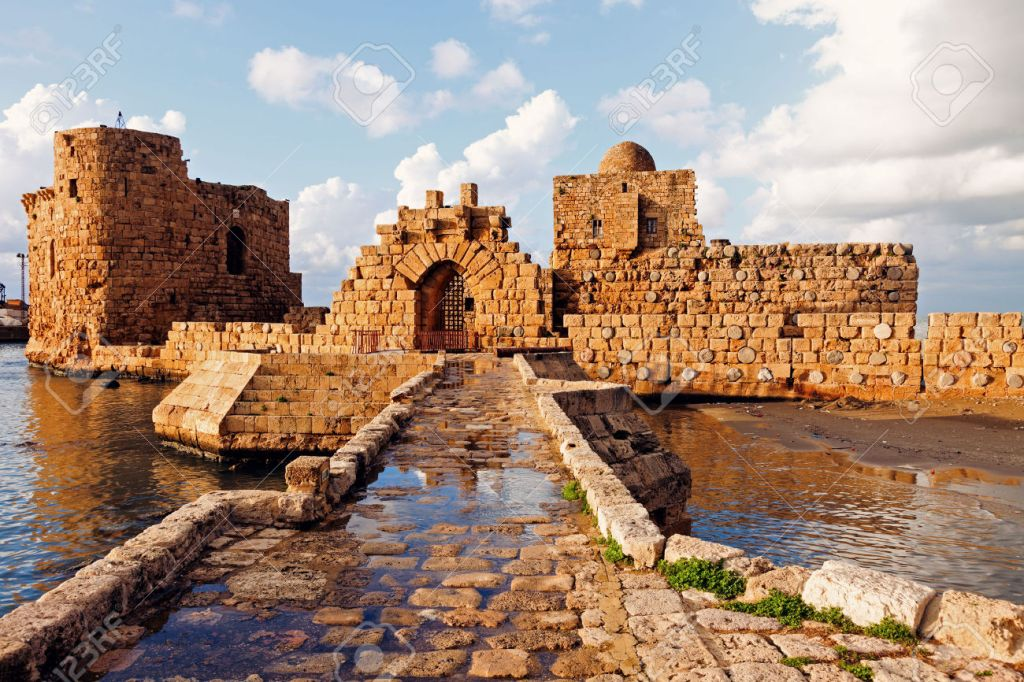 Sidon, Lebanon, heritage, castle