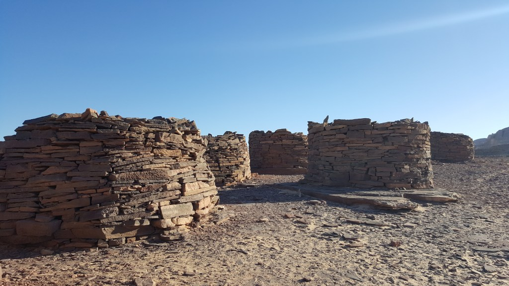 Nawamis, Sinai trail, Archaeological site, tombs