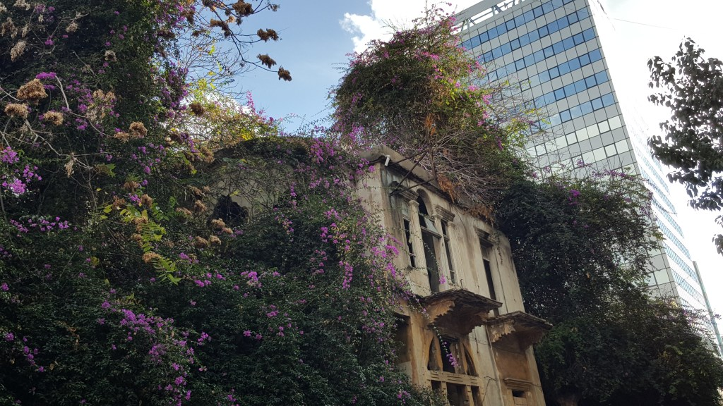 Beirut, Lebanon, old building, house, mansion, architecture, inheritance