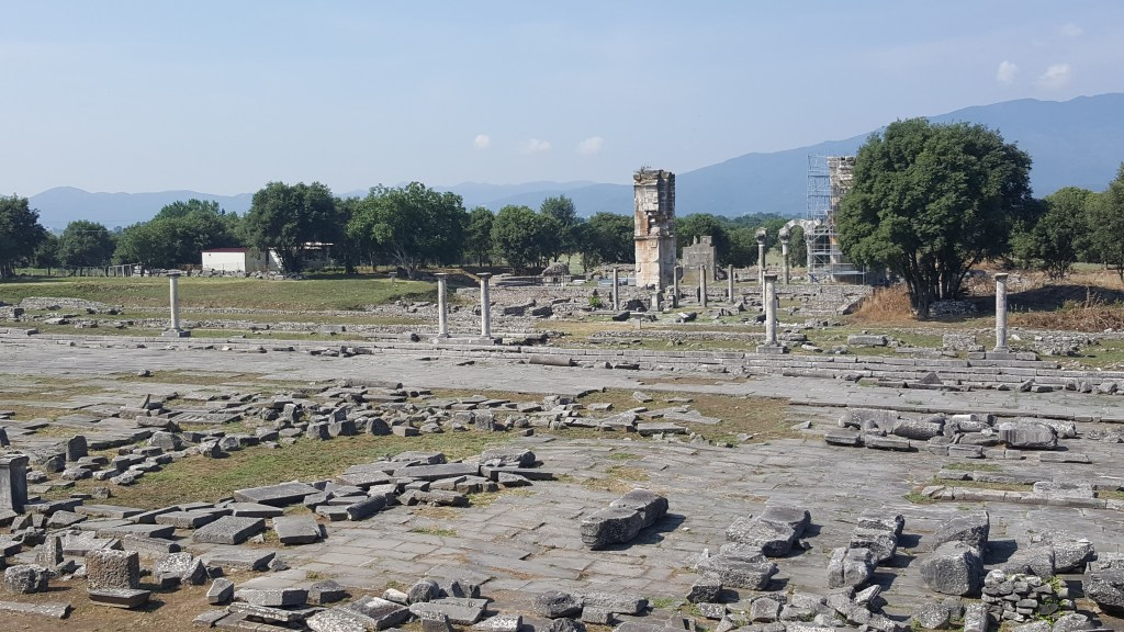 Philippi, Greece, Roman cities, ancient civilizations