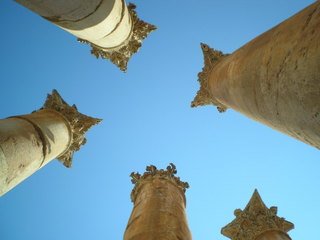 Gerasa, Jerash, Roman cities, ancient civilizations