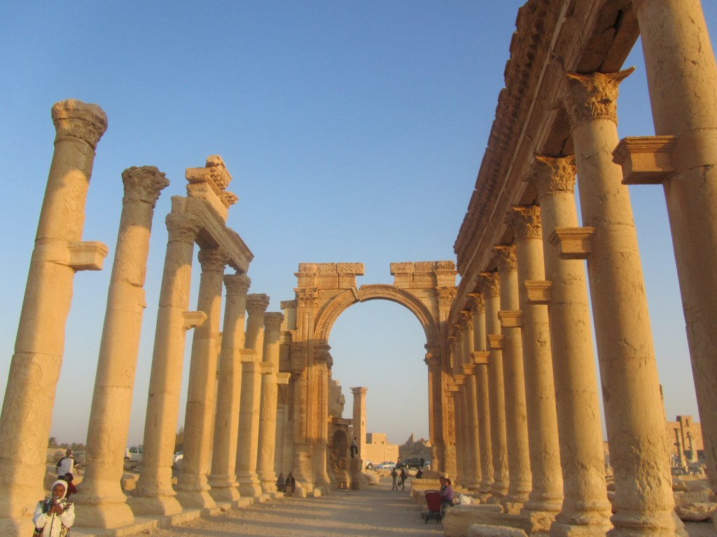 Palmyra, Syria, Roman cities, ancient civilizations