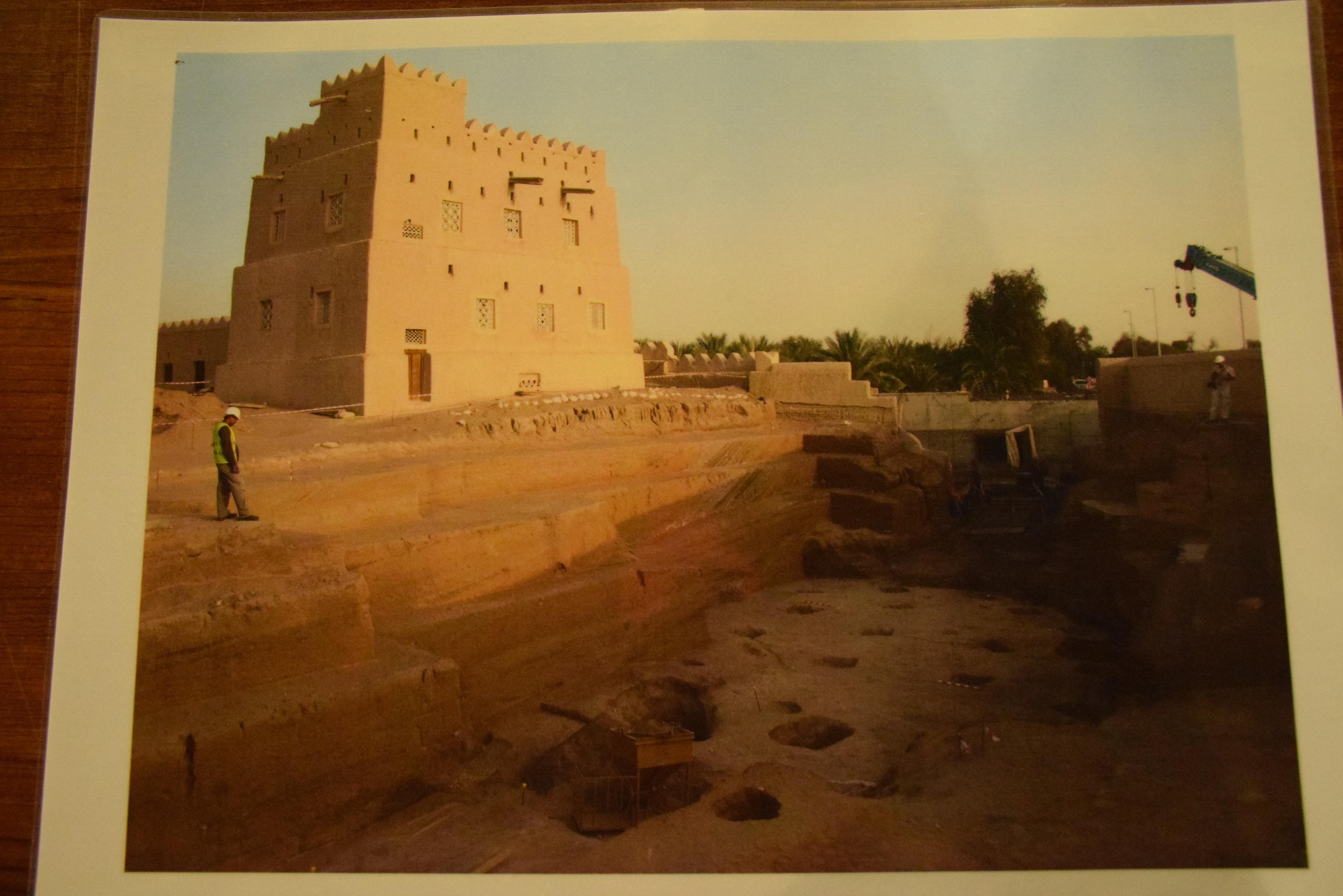 Al Ain, UAE, Al Qattara, archaeology, Iron age
