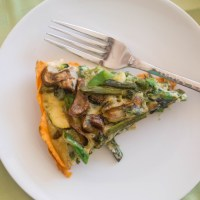 Thanksgiving Bounty Veggie Crustless Quiche