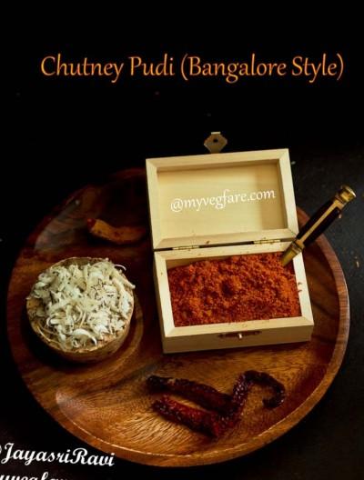 Chutney Pudi (Bangalore Style)