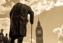 Winston Churchill Ancien Premier ministre du Royaume-Uni