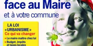 """QUE CHOISIR """"Vous, face au Maire et à votre commune"""""""